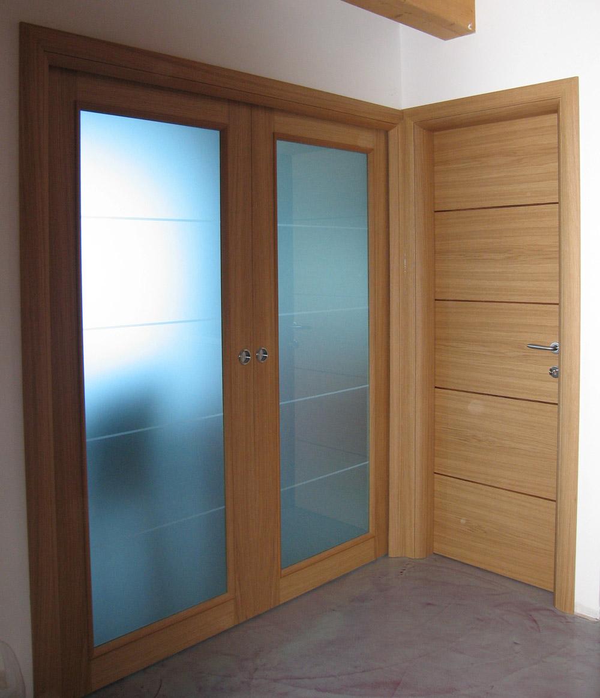 Porte in legno con vetro le ultime idee sulla casa e sul - Porte in vetro design ...