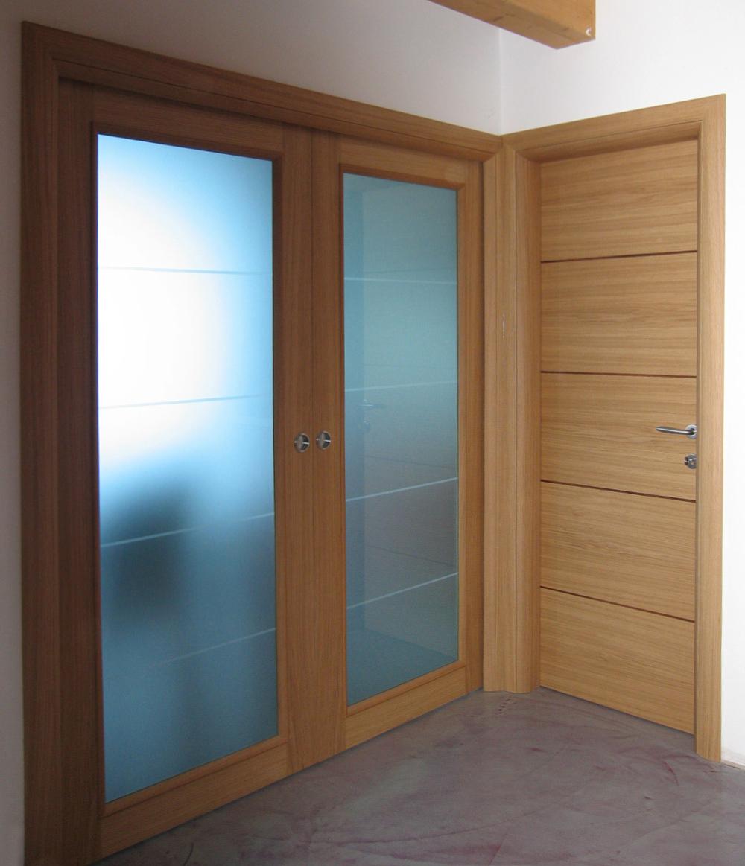 Porte interne in legno falegnameria murari snc - Tipi di porte interne ...